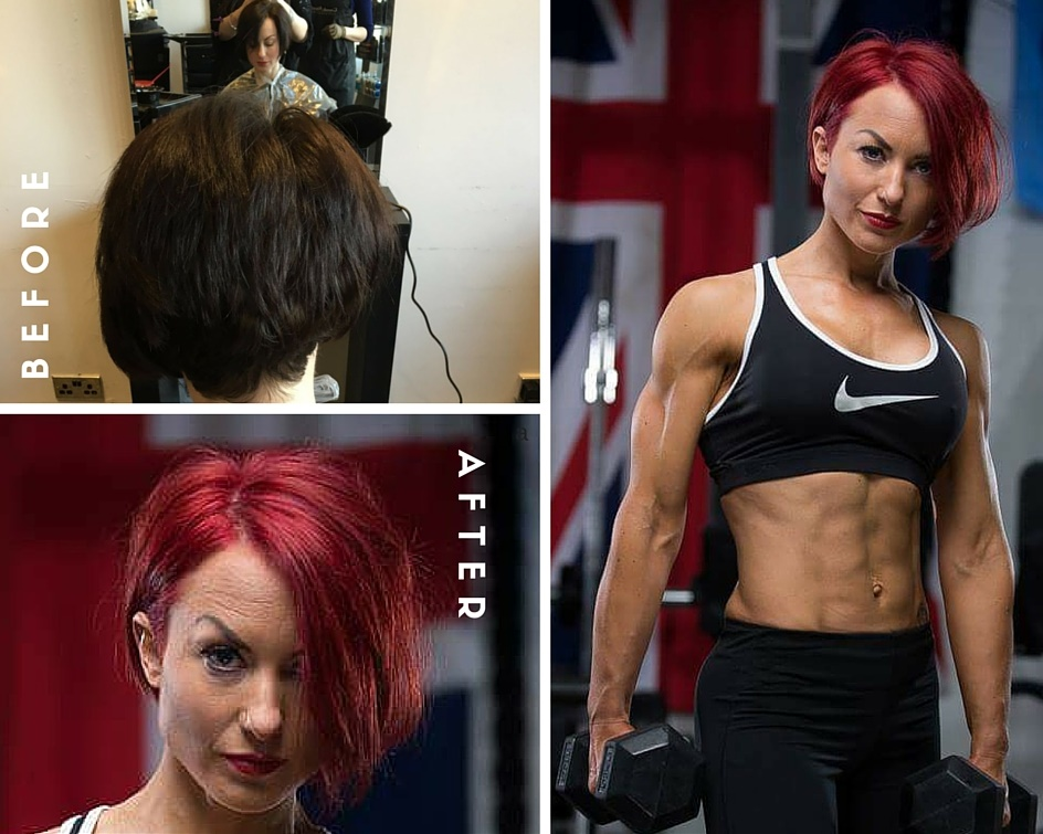 Carmelo Alessi Hairdressing Stony Stratford Keune Colour Transformation Jess Red